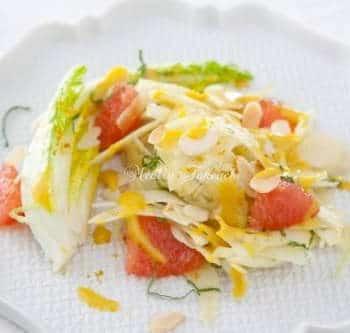 ミントとフェンネルのグレープフルーツサラダ